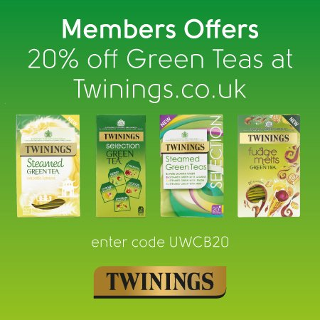 Twinings Sponsor of Ultra White Collar Boxing