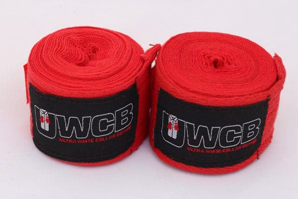 Ultra White Collar Boxing(UWCB) - Glove Bundle - Wraps
