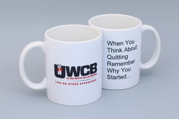 UWCB Motivational Quote Mugs
