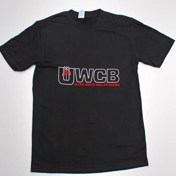 Ultra White Collar Boxing(UWCB) T-Shirt- Front