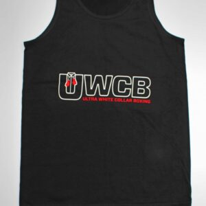 Ultra White Collar Boxing(UWCB) Vest - Front