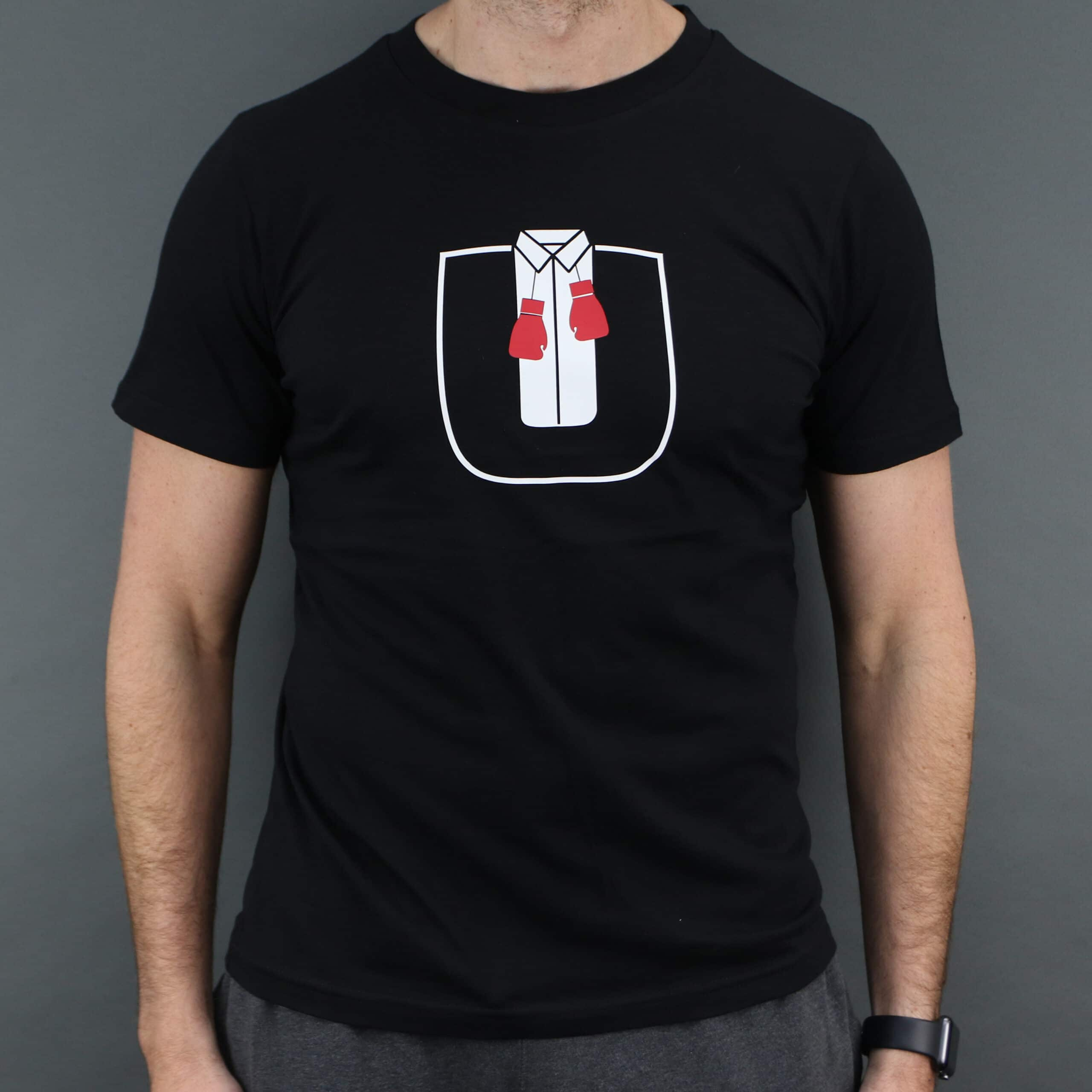 Ultra White Collar Boxing(U) T-Shirt- Front