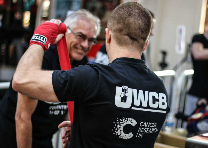 Health benefits of boxing with UWCB