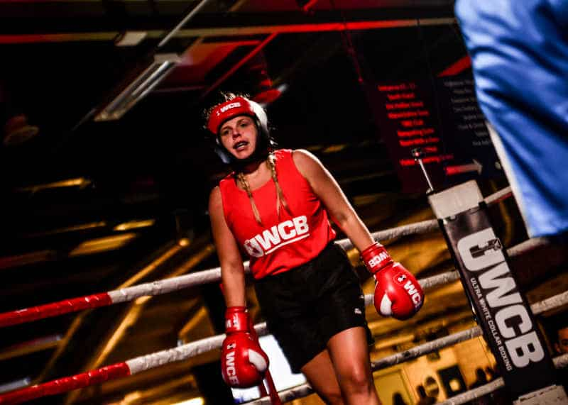 event – Ultra White Collar Boxing