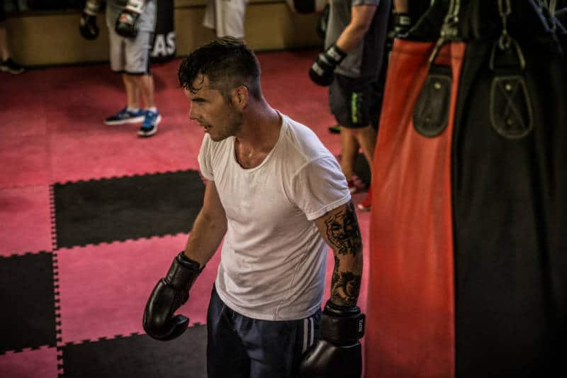 ultra white collar boxing give you something to train towards