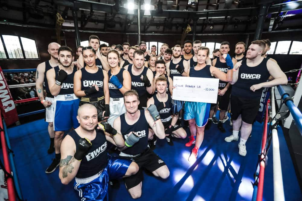 UWCB fundraise millions for Cancer Research UK